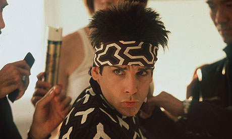 Ben Stiller portrays Derek Zoolander in Paramont Pictures and Village Roadshow Pictures, Zoolander