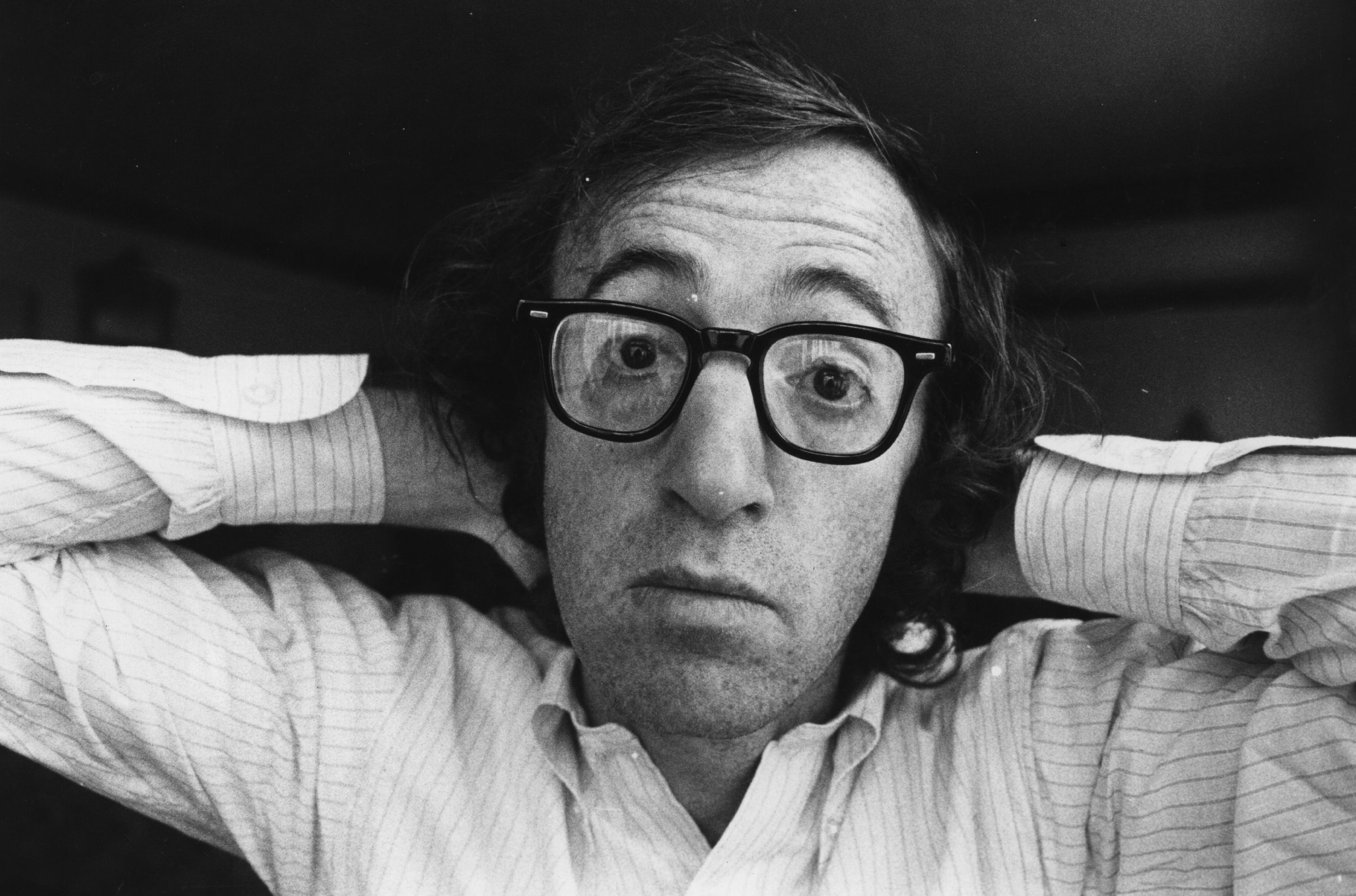American writer, actor and film director Woody Allen. (Photo by Evening Standard/Getty Images)